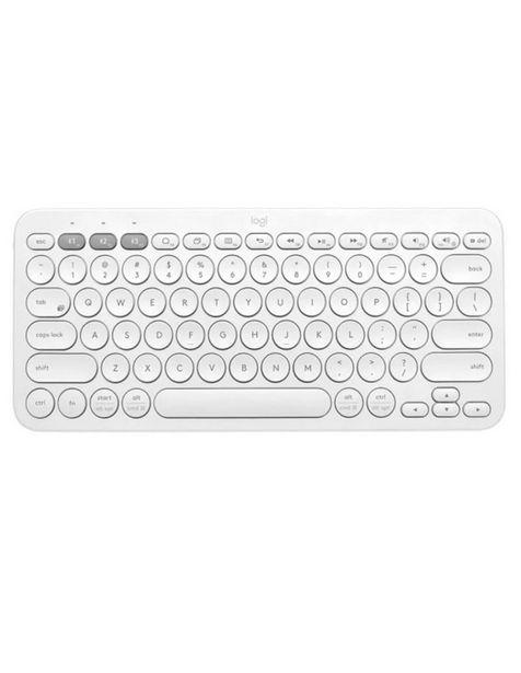 Oferta de Teclado Bluetooth Logitech K380 White Mac Android iOS 920-009595 por $699