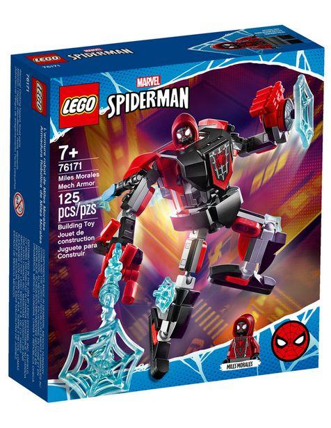 Oferta de Set de Construcción Armadura Robótica de Miles Morales Lego Spider-Man por $199