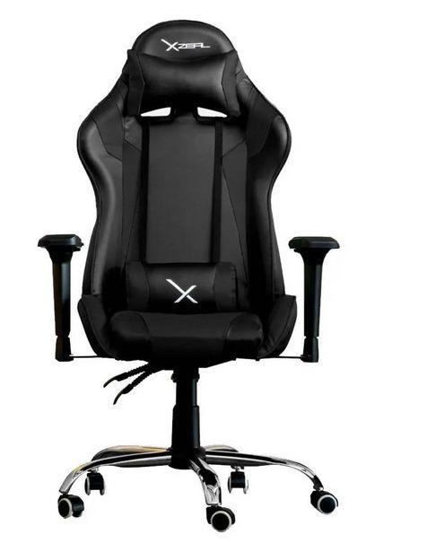 Oferta de Silla Gamer Stylos XZ10 Acero Respaldo Ajustable Brazos negro ZXSXZ10B por $4899