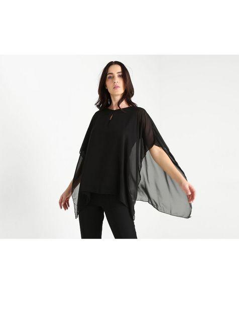 Oferta de Blusa Punt Roma negra por $399.6