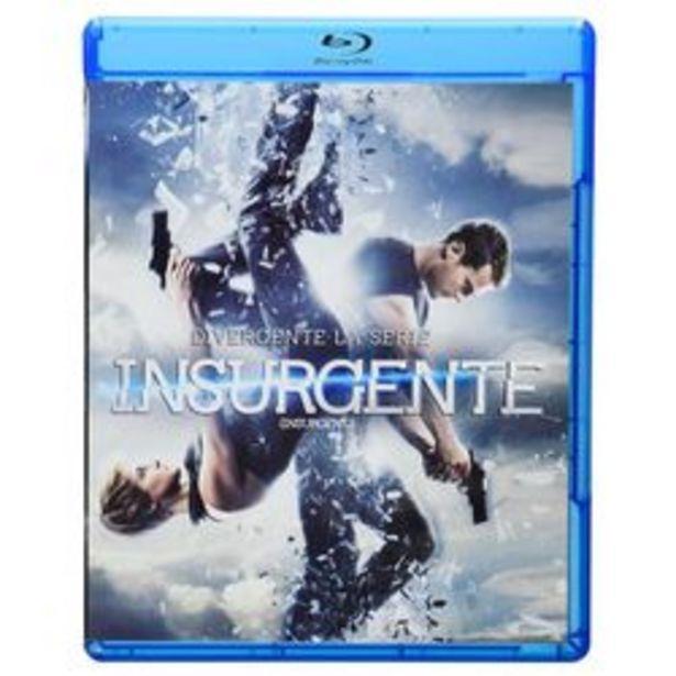 Oferta de Insurgente - Divergente La Serie Blu ray + DVD por $29