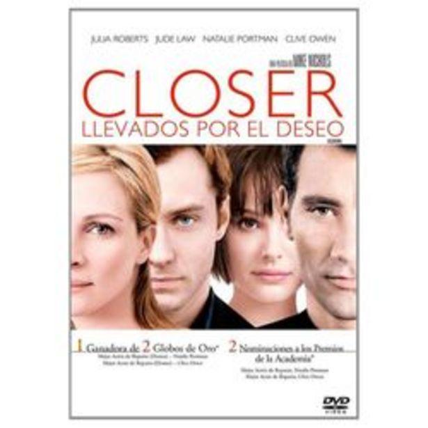 Oferta de Closer:  Llevados Por El Deseo DVD por $29