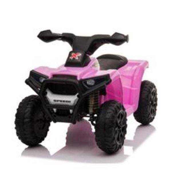 Oferta de Montable Eléctrico Mini Quad Easy Shot TR0399 Rosa por $1099