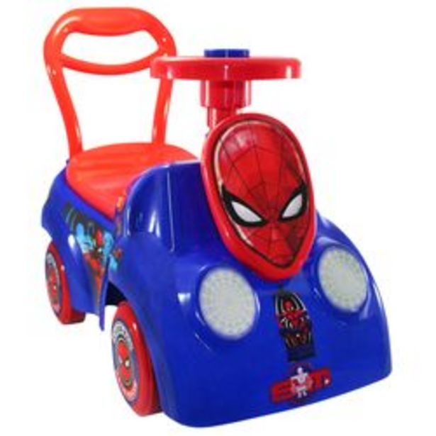 Oferta de Carro Montable Spiderman por $399