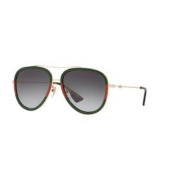 Oferta de Lentes de Sol Gucci Gg0062s 003 Aviator por $2099