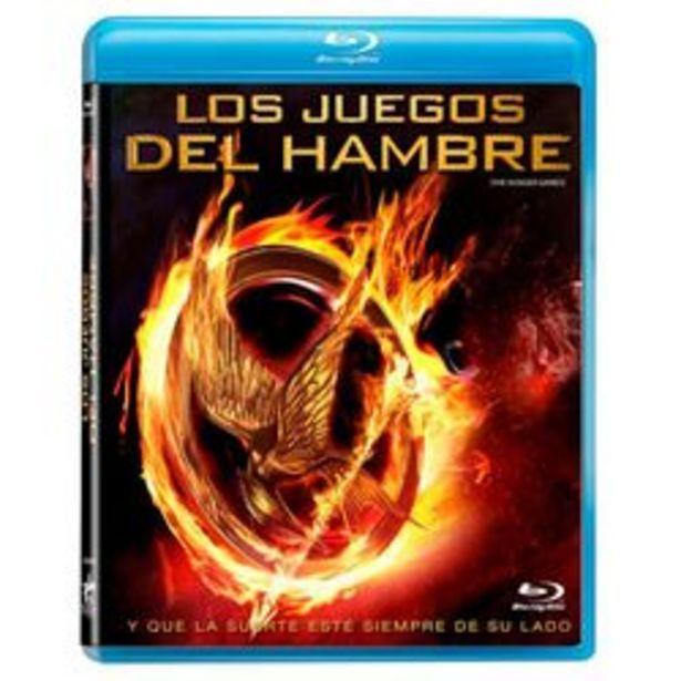 Oferta de Los Juegos Del Hambre Blu ray por $29