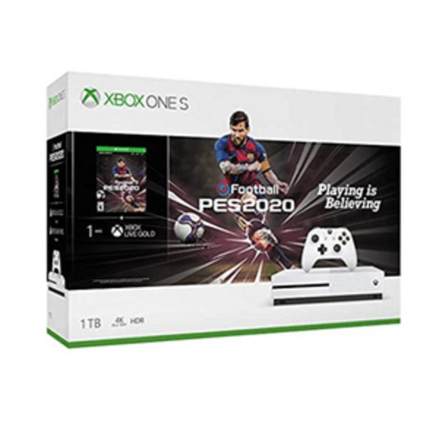 Oferta de X Box One S Juego Pes 2020 1TB Con Blu-Ray 4K -End- por $10970