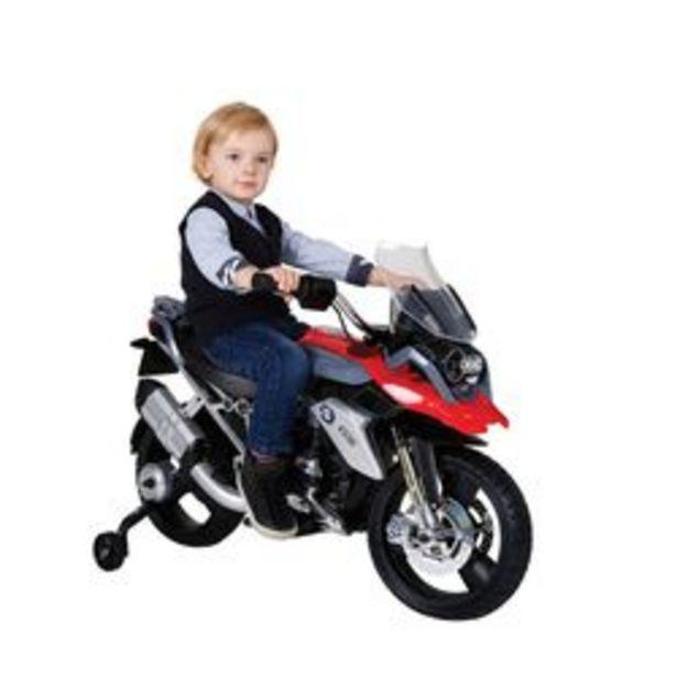 Oferta de Moto Eléctrica Prinsel BMW 1200 Negro con Rojo por $4999