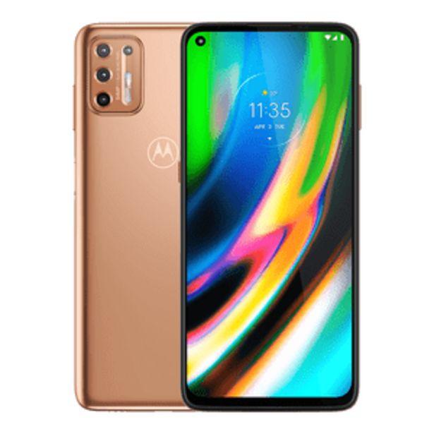 Oferta de Motorola Moto G9 Plus Dual 128GB Oro Rosa por $7699