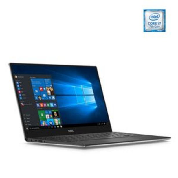 "Oferta de Laptop Dell XPS Intel Core i7 RAM 8GB SSD 256GB W10 13.3"" - Plata por $25349"