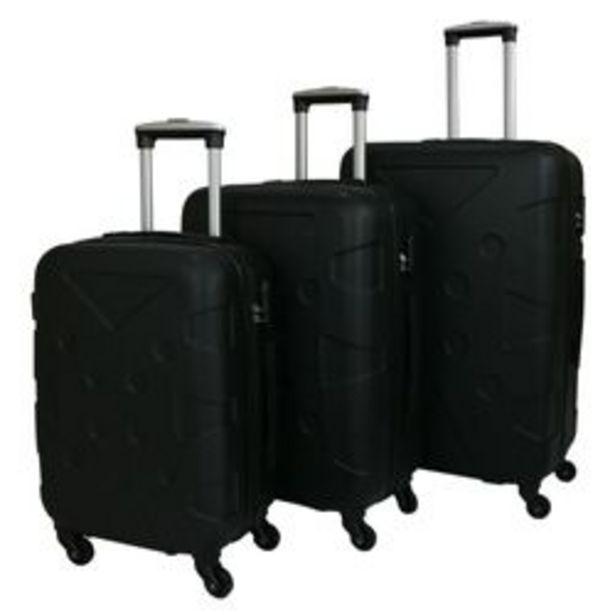 Oferta de Set de 3 maletas Rigidas ABS Check In MCHK10 por $2659