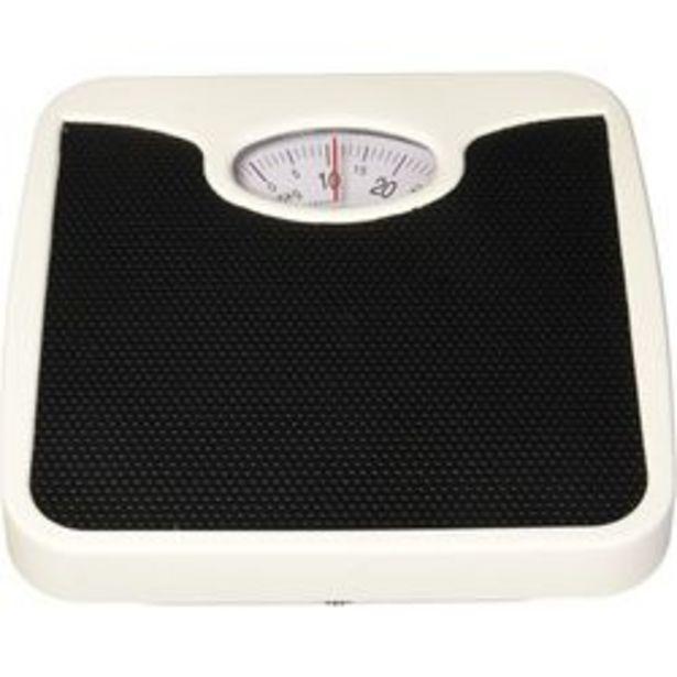 Oferta de Bascula Baño 125kg Antiderrapante Negro Silverline por $369