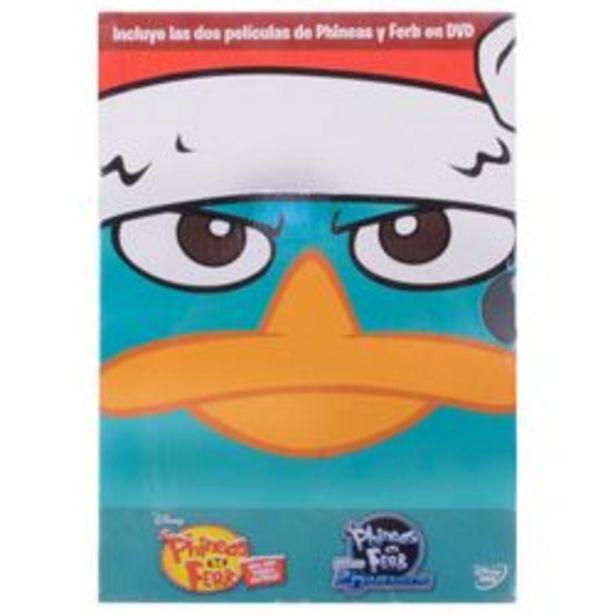 Oferta de Paq-Phineas Y Ferb DVD por $29