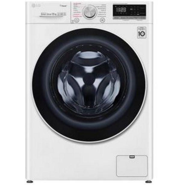 Oferta de Lavadora LG WM12WVC4S6 12Kg Blanca por $8999