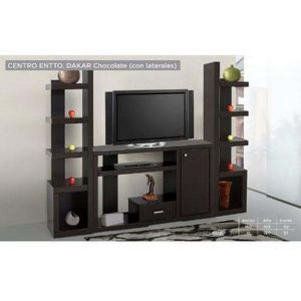 Oferta de Centro De Entretenimiento Dakar (Lateral Derecho) - Chocolate por $3919