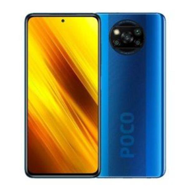 Oferta de Xiaomi Poco X3 128GB Desbloqueado Azul por $6680