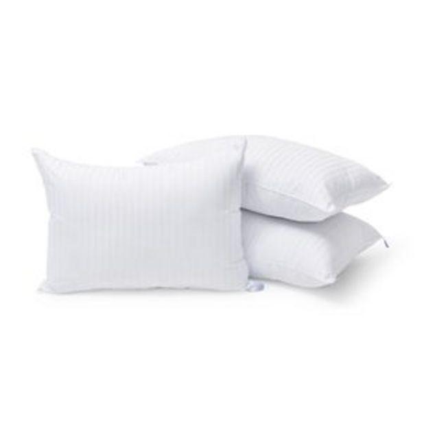 Oferta de Set de 3 Almohadas Estandar Almoda Microgel Hotelera Premium por $799