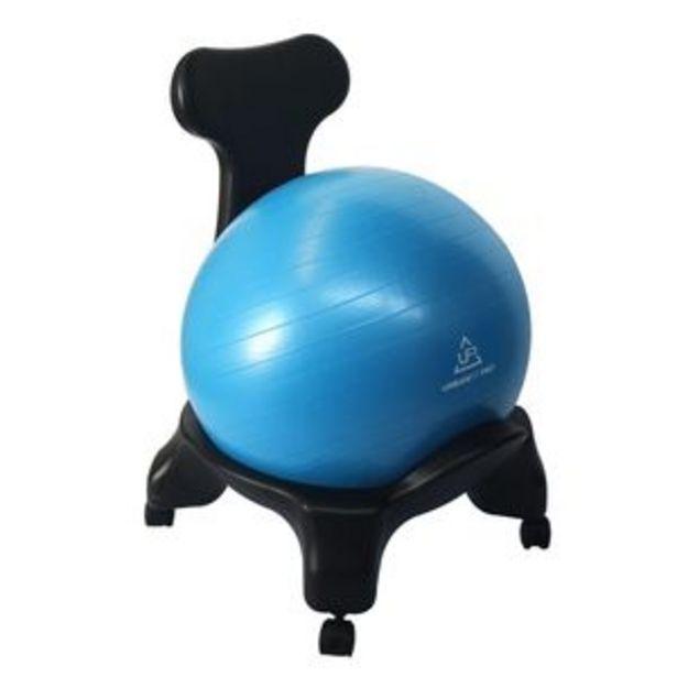 Oferta de Silla de Oficina Pelota de Yoga ergonomica Azul por $1530