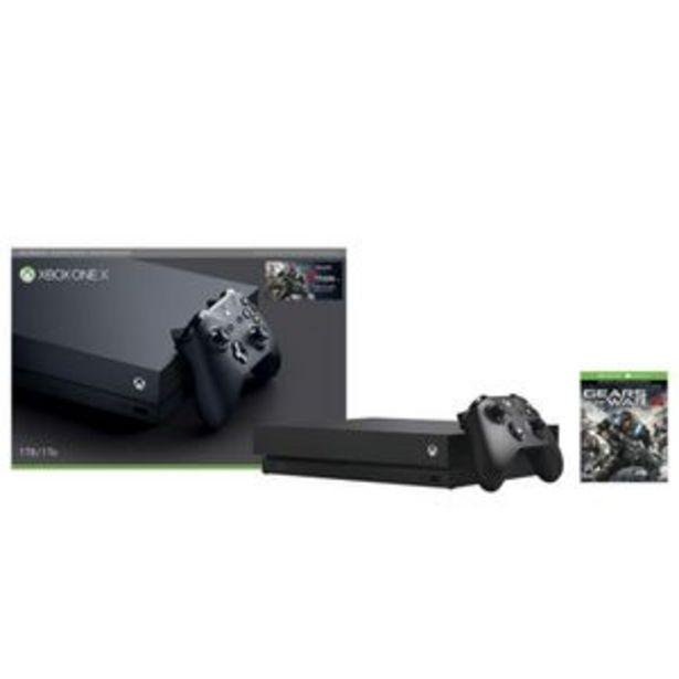 Oferta de Consola Xbox One X Reacondicionada 1TB más Gears of War 4 por $8999