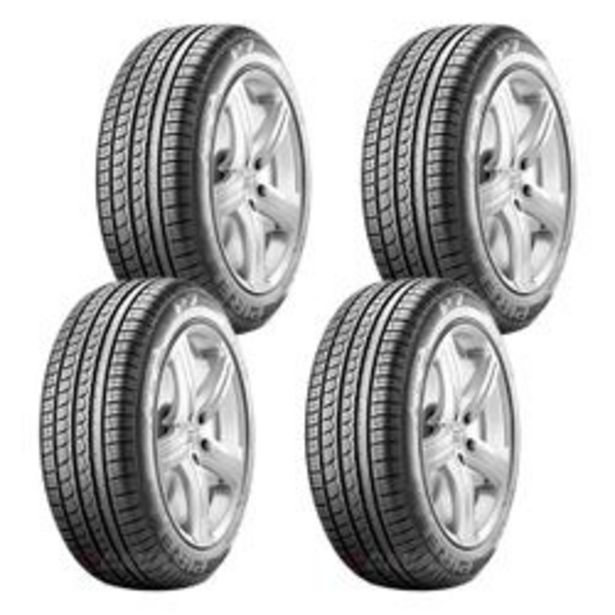 Oferta de Paquete De 4 Llantas 225/45 R17 Pirelli P7 91W por $7630