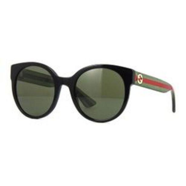 Oferta de Lentes de Sol Gucci Gg0035s 002 Round Shape por $2099