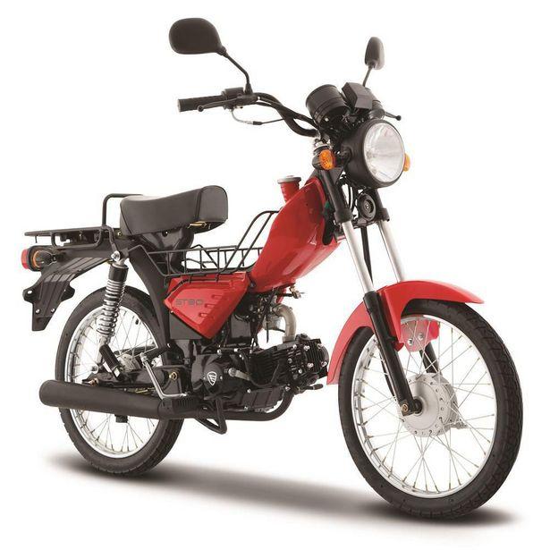 Oferta de Motocicleta de Trabajo Italika ST90 Roja por $14999