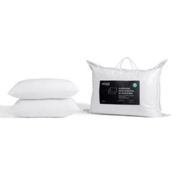 Oferta de Almohadas Nooz Essential de Microfibra, 2 pack Estándar por $539.1