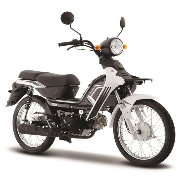 Oferta de Motocicleta de Trabajo Italika AT110 LT Blanca por $17499