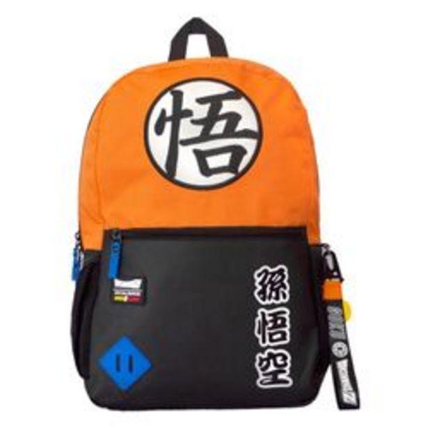 "Oferta de Mochila Escolar Dragon Ball BP156DBZ41 18"" Naranja por $409"