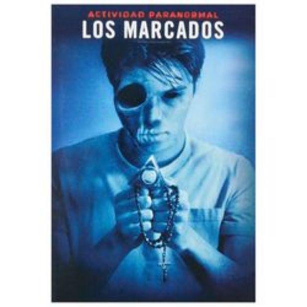 Oferta de Actividad Paranormal Los Marcados DVD por $29