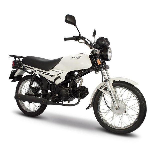 Oferta de Motocicleta de Trabajo Italika DT110 Delivery Blanca por $16699
