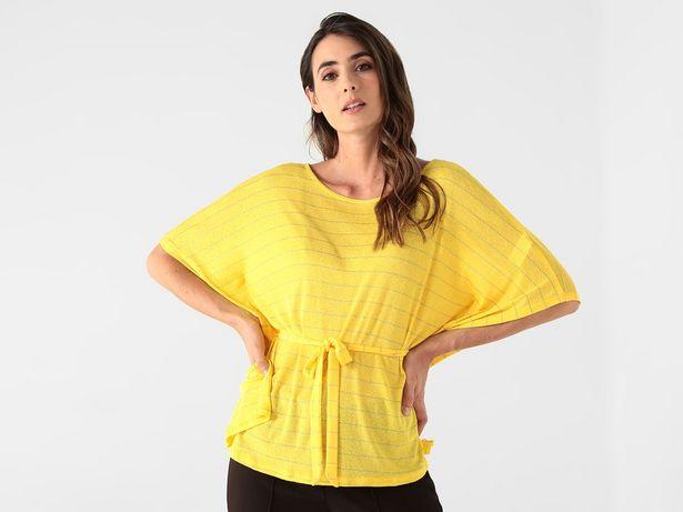 Oferta de Blusa La Mode a rayas con lurex por $199
