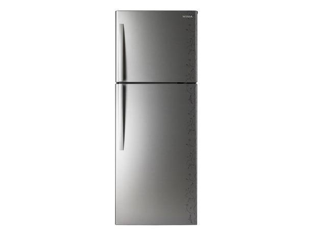 Oferta de Refrigerador Winia 11 pies cúbicos silver DFR-32220GNA por $6998