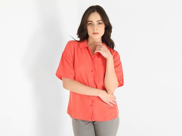 Oferta de Blusa Contempo cuello camisero manga corta por $158