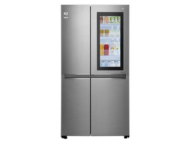 Oferta de Refrigerador LG 27 pies cúbicos InstaView P-Veyron 4 LS74BXP por $28799.1