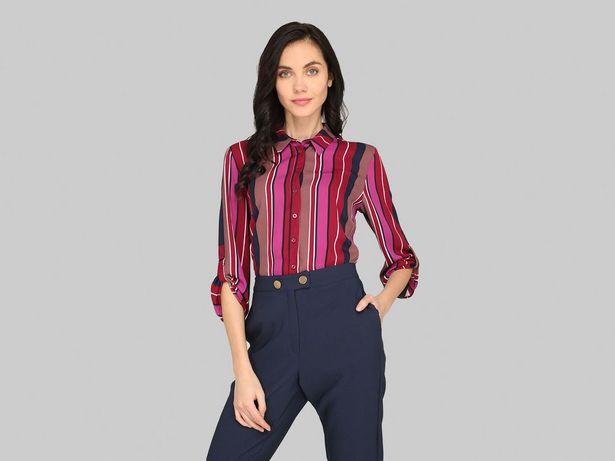 Oferta de Blusa camisera La Mode con manga ¾ por $149
