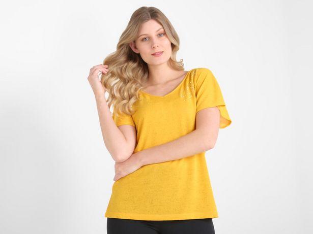 Oferta de Blusa La Mode con pedrería de fantasía por $149