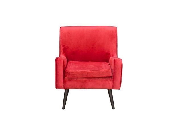 Oferta de Sillón Supreme Belgica rojo por $2999