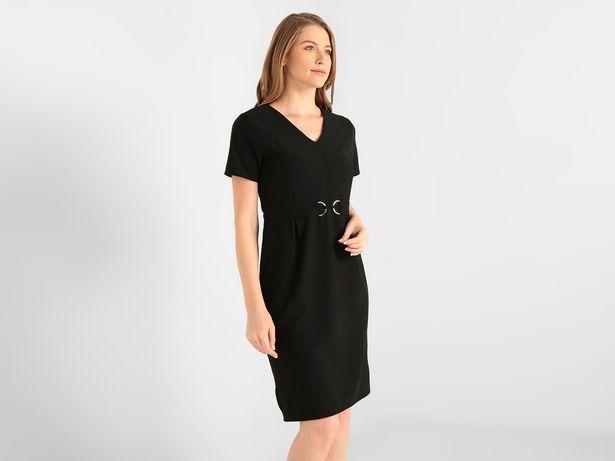 Oferta de Vestido La Mode texturizado corte recto por $199