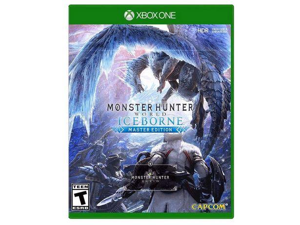 Oferta de Monster Hunter World: Iceborne Xbox One Master Edition por $1099