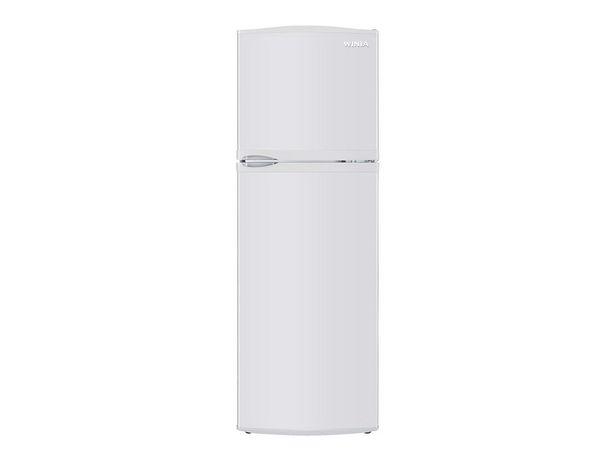 Oferta de Refrigerador Winia 9 pies cúbicos blanco DFR-9010DBX por $6799.2