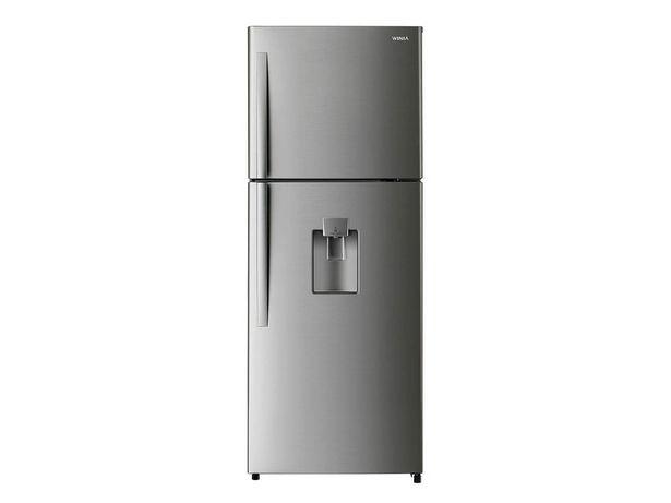 Oferta de Refrigerador Winia 16 pies cúbicos color silver DFR-44520GMDX por $9448.6