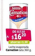 Oferta de Leche evaporada Carnation por $16.2
