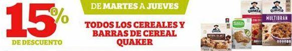 Oferta de Galletas Quaker por