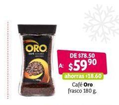 Oferta de Café soluble Oro por $59.9
