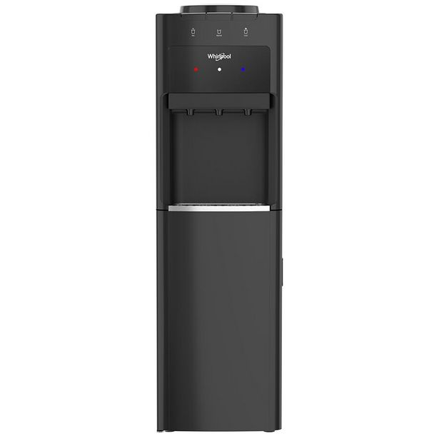 Oferta de Despachador de Agua Whirlpool con Refrigerador Inferior Negro WK5917B por $6899