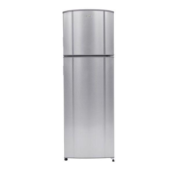 Oferta de Refrigerador Top Mount Whirlpool 9 p³ Acero Inoxidable WT9014S por $9499