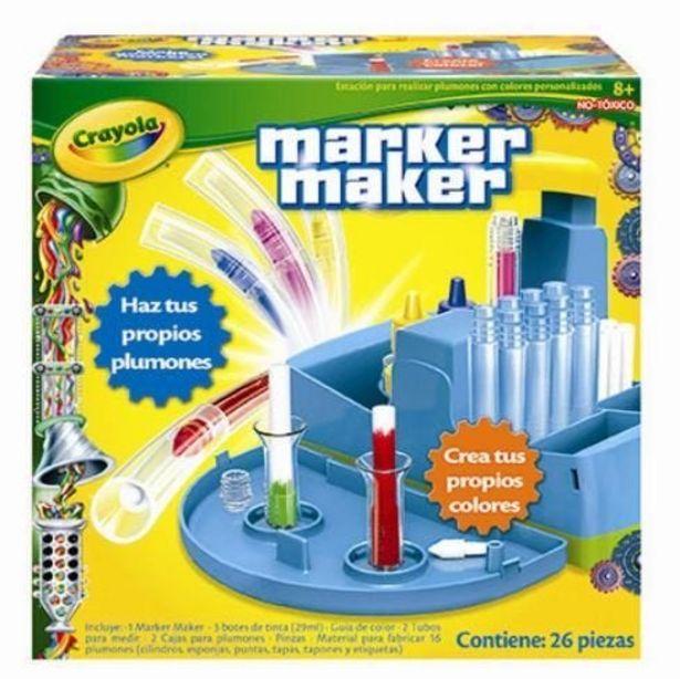 Oferta de Fabrica De Marcadores Estuche Crayola por $659