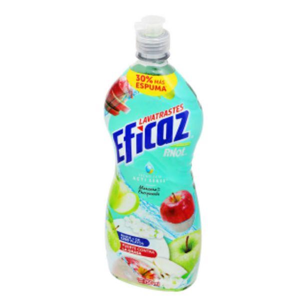 Oferta de Lavatrastes Liquido Eficaz 750 ml por $20.9