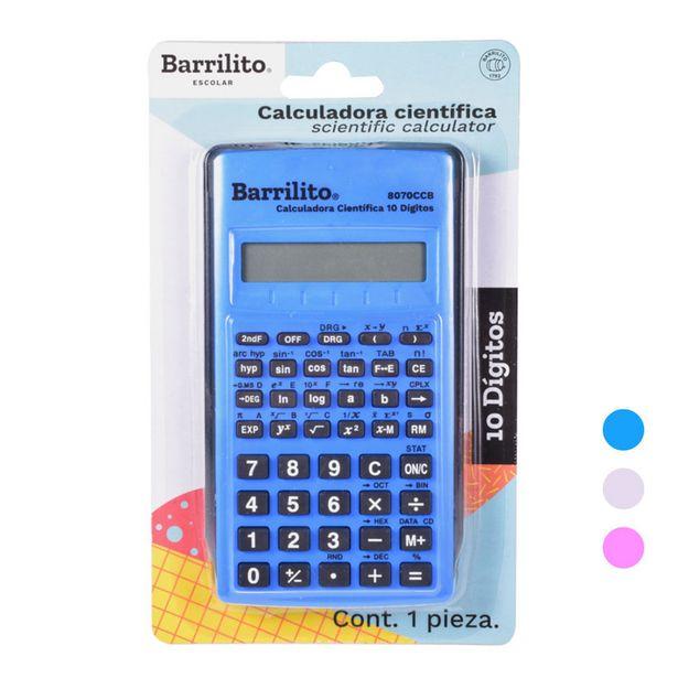 Oferta de Calculadora Científica Digital 8070CCB Barrilito por $54.5